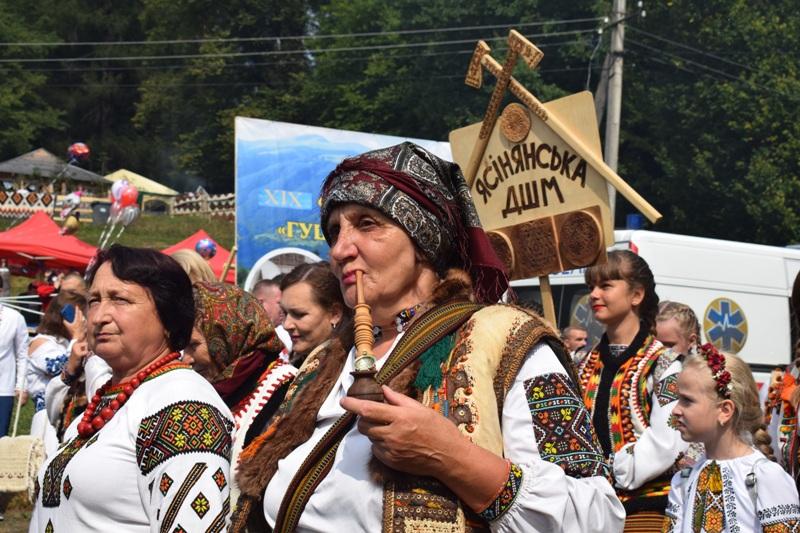 На Рахівщині пройшов ХІХ гастрономічний фестиваль-ярмарок, «Гуцульська бриндзя»