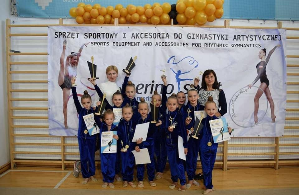 Юні гімнастки з Мукачева здобули перші місця на міжнародному чемпіонаті