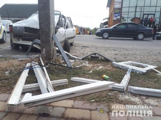 Смертельна ДТП у Виноградові – від отриманих травм водій помер у реанімації
