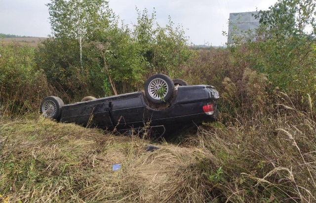 На Ужгородщині перекинувся автомобіль – поліція розшукує водія