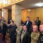 Учасники бойових дій відстояли Ужгородський військовий шпиталь (відео)