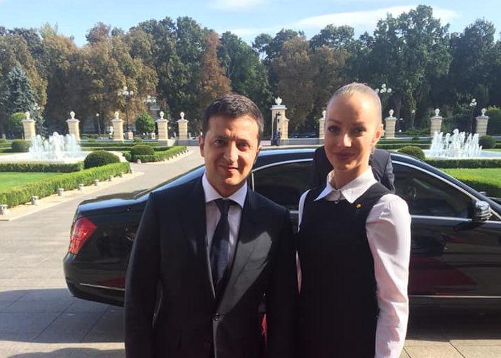 Ужгородка була перекладачем на зустрічі президентів України та Словаччини