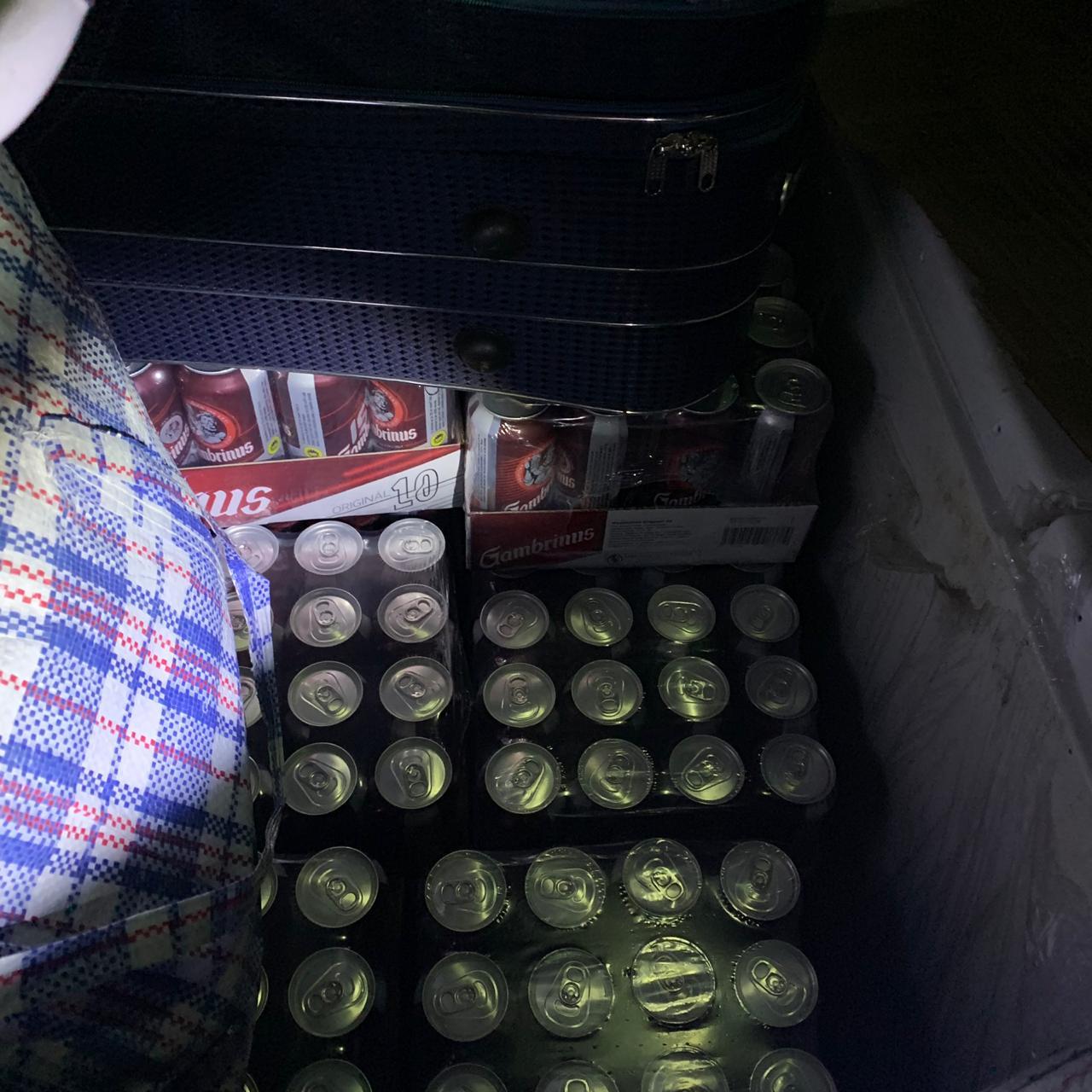 Закарпатські митники вилучили в українця 240 літрів незадекларованого пива