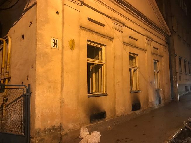 В Ужгороді на пожежі врятовано трьох людей