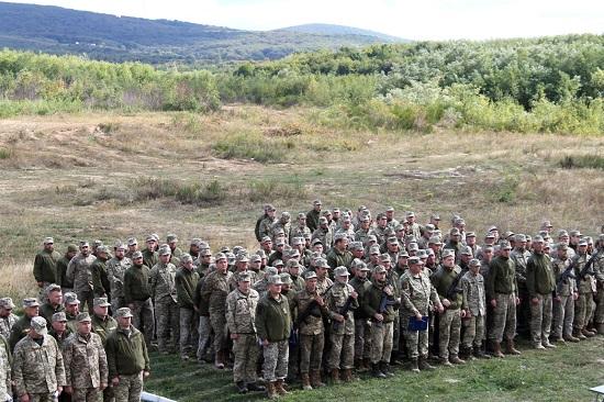 На Закарпатті розпочалися масштабні військові навчальні збори бійців територіальної оборони