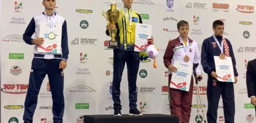 Закарпатець став чемпіоном Європи із кікбоксингу