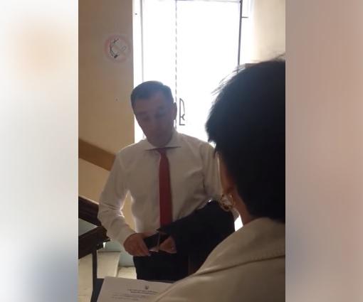 Підозрюваний у хабарництві колишній заступник мера Ужгорода Цап не хоче посади в  держархбудконтролі (відео)