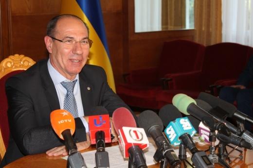 Голова Закарпатської ОДА Ігор Бондаренко провів першу прес-конференцію