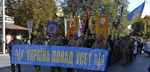 Ужгородом пройшов «Марш національної єдності» (фото)