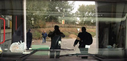 У туристичному автобусі на Закарпатті виявили партію тютюнових виробів (ФОТО)