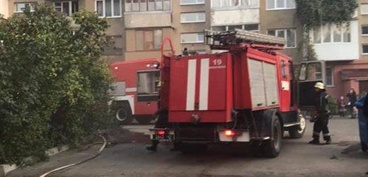 У Мукачеві в квартирі багатоповерхівки горів газовий котел