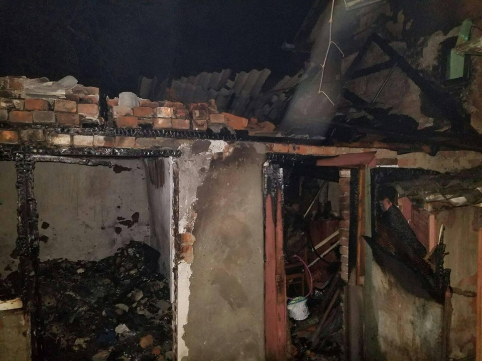 У Виноградові під час пожежі в літній кухні загинув чоловік