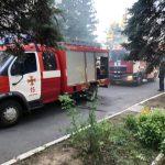 Рятувальники повідомили подробиці пожежі в Ужгородській міській лікарні