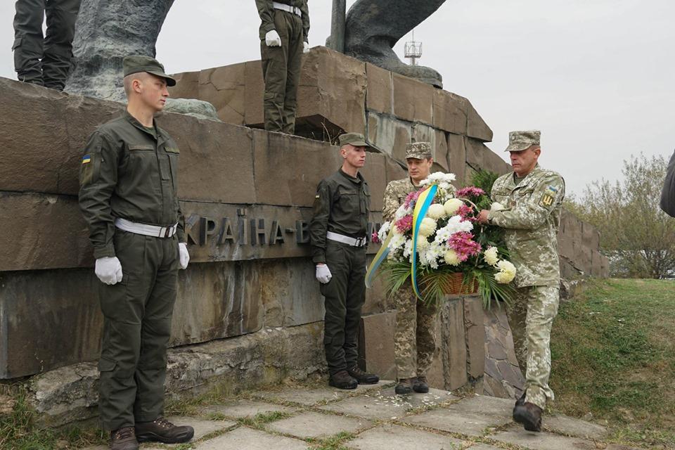 В Ужгороді відзначили річницю визволення України та Закарпаття від нацистських окупантів