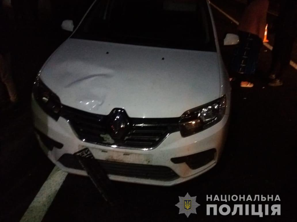 На Іршавщині водійка за кермом іномарки збила насмерть 8-річну дівчинку