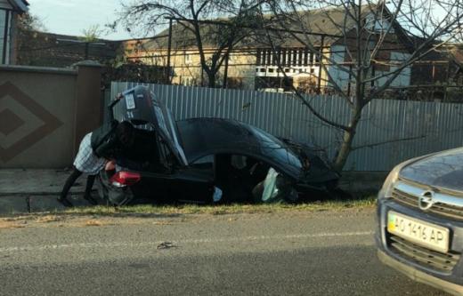 У ДТП на Мукачівщині постраждала пасажирка авто
