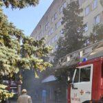 В Ужгороді горить міська лікарня (ВІДЕО)