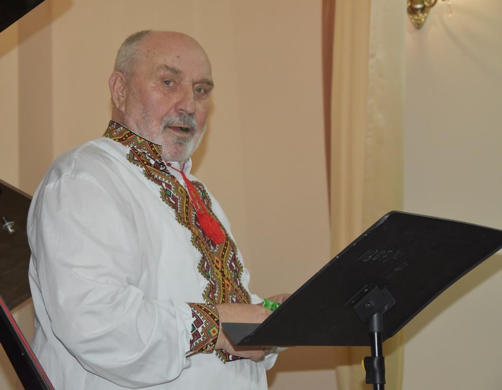 Закарпатський співак і композитор Петро Матій відзначив півстолітній творчий ювілей