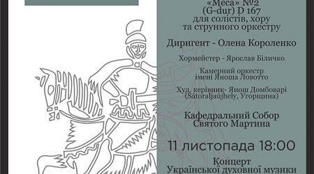 В Мукачеві відбудеться другий фестиваль музичного мистецтва Martin Music Fest