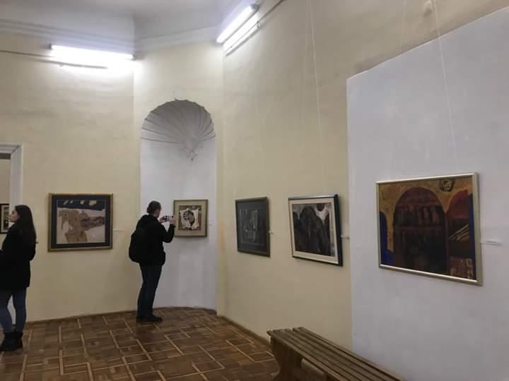 """В Ужгороді відкрили виставку робіт Золтана Мички """"In memoria"""""""