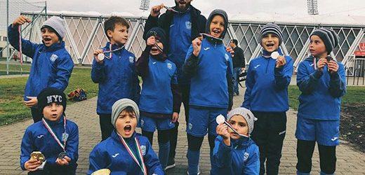 """Юні футболісти """"Минаю"""" здобули срібло на міжнародному турнірі в Угорщині"""