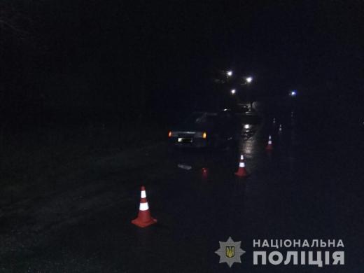 На Тячівщині автівка збила пішохода – постраждалий у реанімації