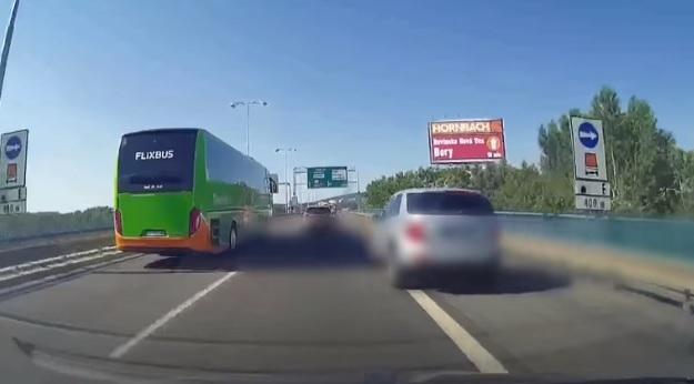 В сусідній Словаччині також грубо порушують правила дорожнього руху (відео)