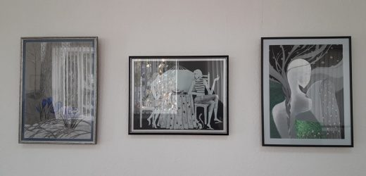 В Хусті відкрили експозицію графічних робіт