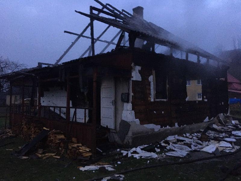 На Рахівщині пожежа забрала життя людини