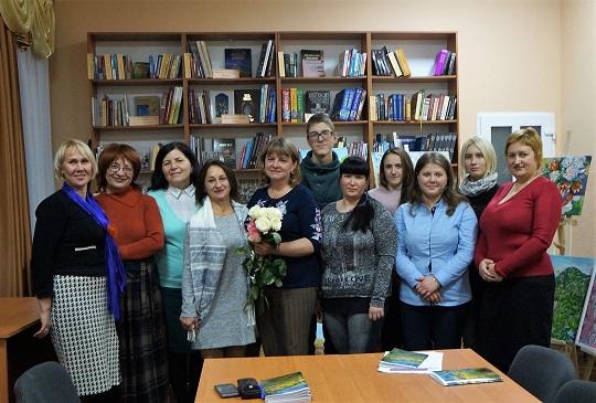 В Ужгородській центральній міській бібліотеці відбувся дебют поетеси Наталії Ястрземскі