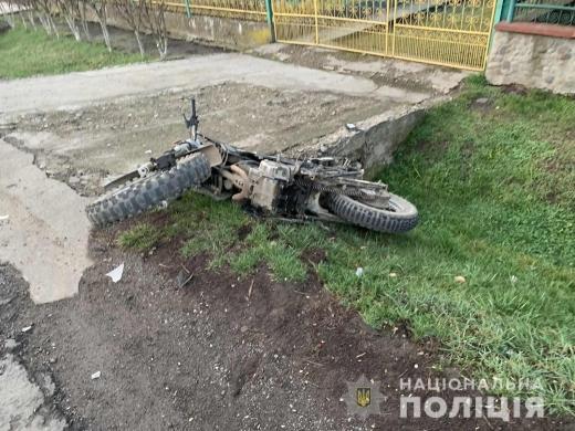 На Перечинщині мотоцикл зіткнувся з автомобілем – двоє неповнолітніх потрапили до лікарні