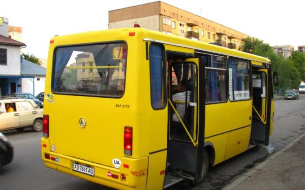 В Ужгороді змінено шлях маршруту №5