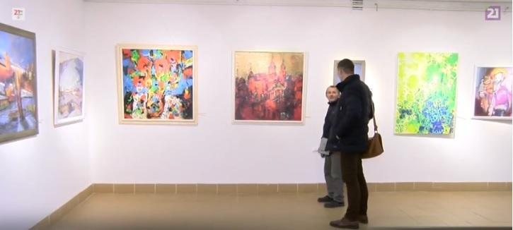 В Ужгороді презентували різдвяну виставку закарпатських художників