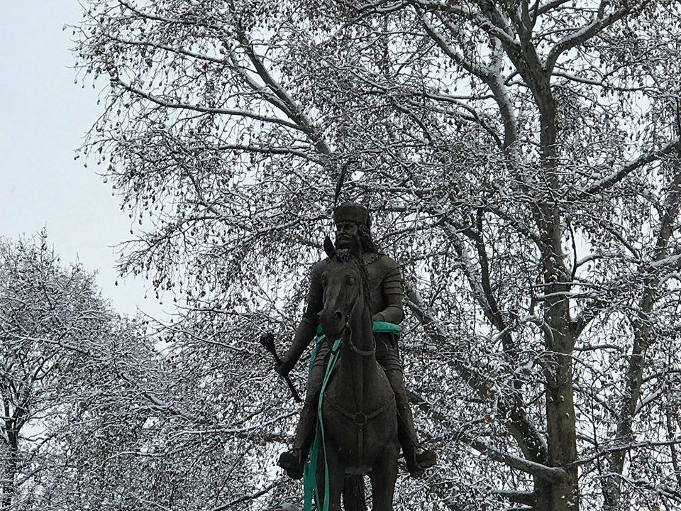 У парку в Берегові встановлють пам'ятник Ференцу Ракоці ІІ на коні