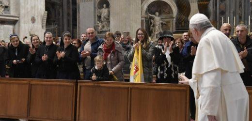 Папа Римський зустрівся з паломниками із Закарпаття
