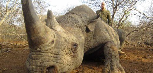 Депутат ОПЗЖ Нестор Шуфрич хизується вбитим носорогом (фото)