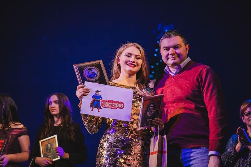 Переможницею конкурсу «Кращий студент Закарпаття–2019» стала Альона Томащук з Ужгородського інституту культури і мистецтв