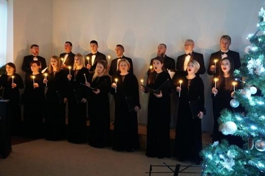 """Хор """"Кантус"""" виступив в Ужгороді із святковим концертом"""