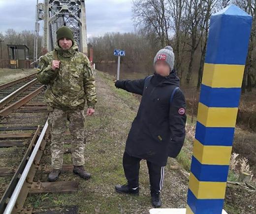 На Закарпатті затримали молодого іноземця, який намагався нелегально потрапити в Україну