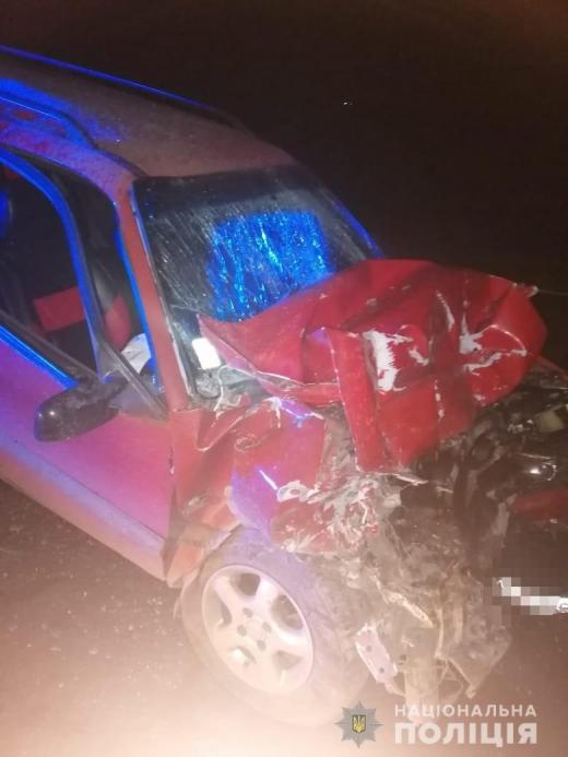 На Ужгородщині зіткнулися дві автівки – постраждали обидва водії