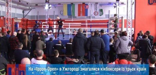 Кікбоксери з трьох країн змагалися в Ужгороді за Кубок святого Миколая