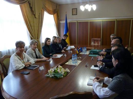 Міністр освіти Ганна Новосад зустрілася з представниками угорської громади Закарпаття
