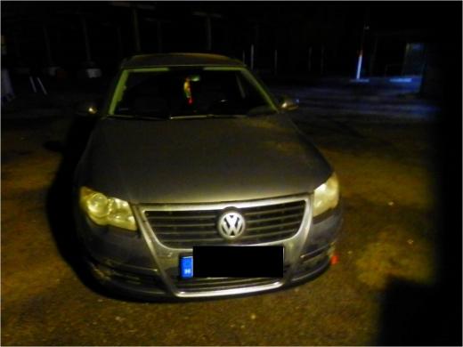 Іноземець намагався перетнути кордон на Закарпатті на викраденій автівці