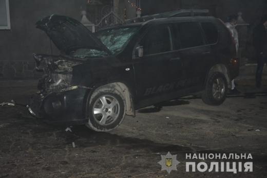 На Тячівщині зіткнулися дві автівки – є постраждалі