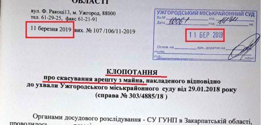 """Закарпатські правоохоронці """"топлять"""" справи про конфісковані автівки (документ)"""