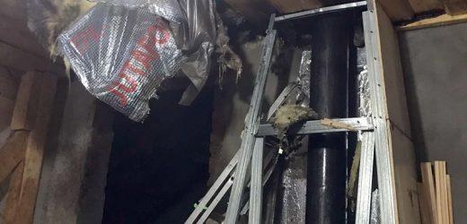 На Ужгородщині пожежники врятували житловий будинок та його мешканців від вогню