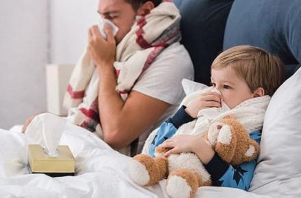 На гострі респіраторні інфекції протягом тижня захворіло 7 610 закарпатців