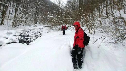 У горах на Рахівщині заблукала іноземка та група українських туристів