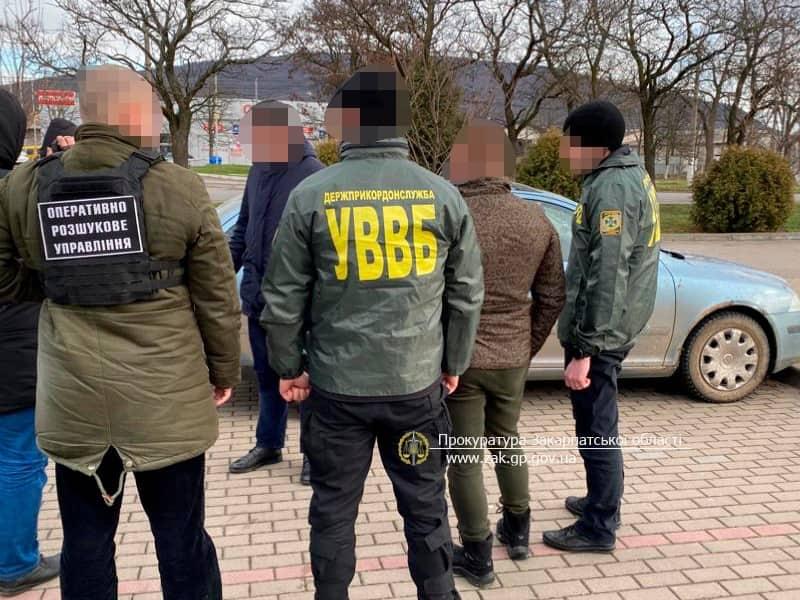 Внутрішня безпека прикордонників знешкодила закарпатця, який намагався підкупити офіцера
