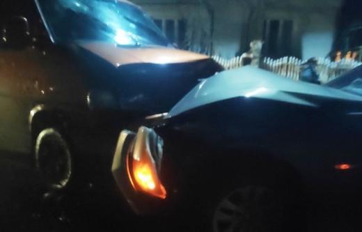 Два автомобілі зіткнулися на Тячівщині